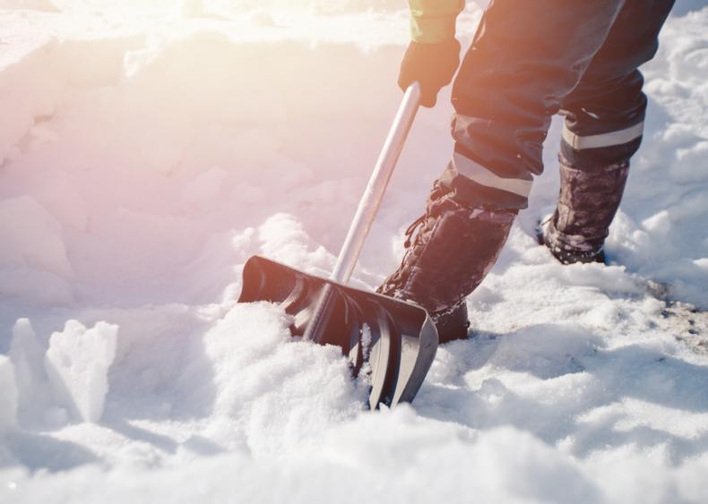 #14. Get a solid snow shovel