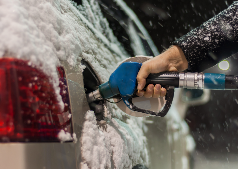 #18. Keep your gas tank at least half-full