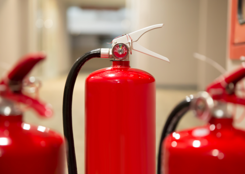 #27. Make sure you have a fire extinguisher