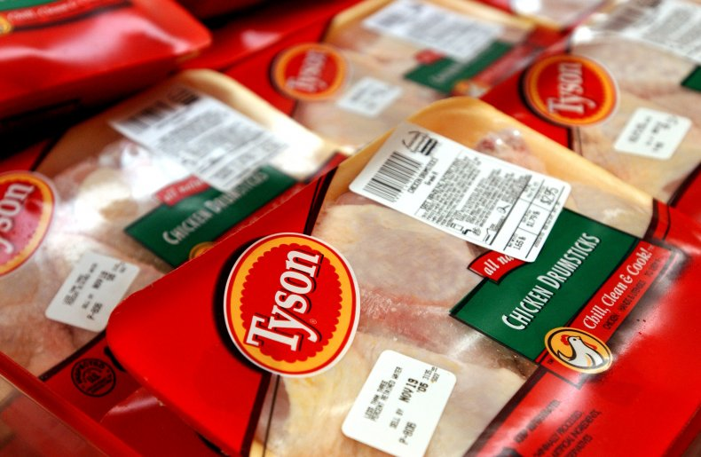 Tyson food packaging