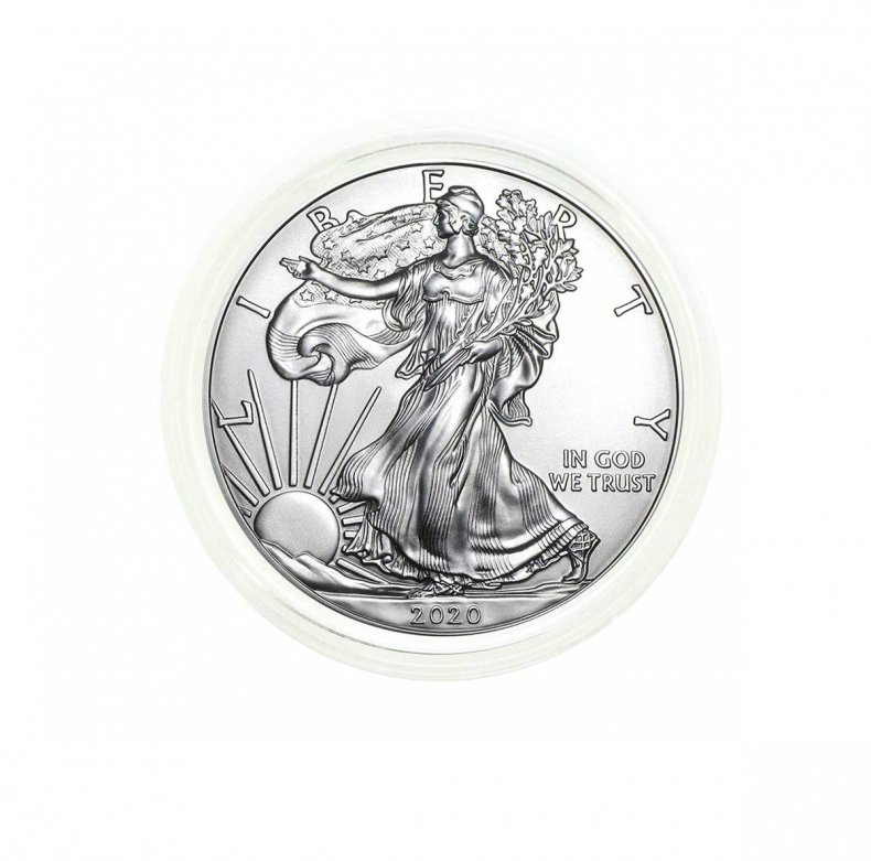 Most Wished for Amazon silver dollar