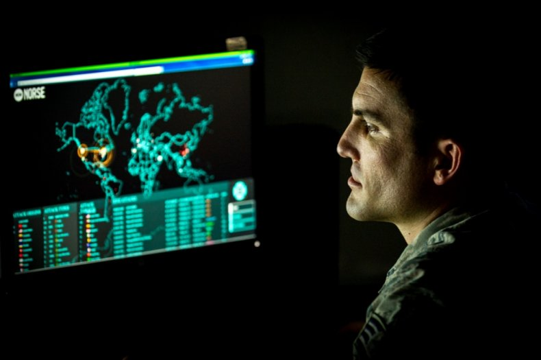 us, air, force, cyber, warfare