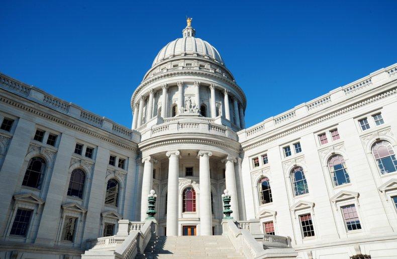 GOP Senator's Daughter Has Wisconsin Capitol Wedding