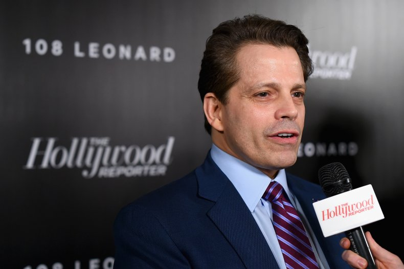 Anthony Scaramucci in New York in 2018