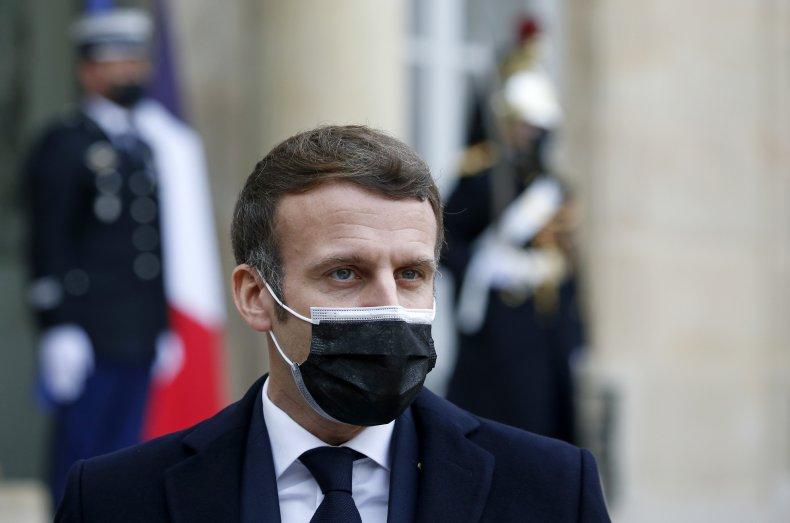Macron in Paris before COVID diagnosis confirmed