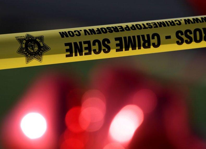 Crime scene tape Las Vegas