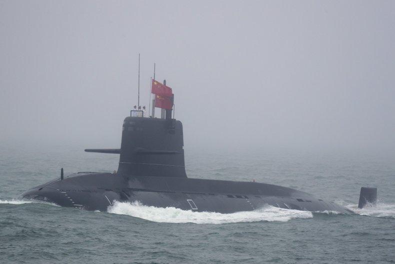 China submarine PLA Navy investment parade threat