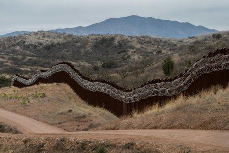U.S.-Mexico border in Arizona