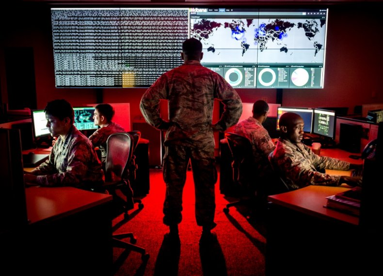 us, air, force, cyber, security, exercise