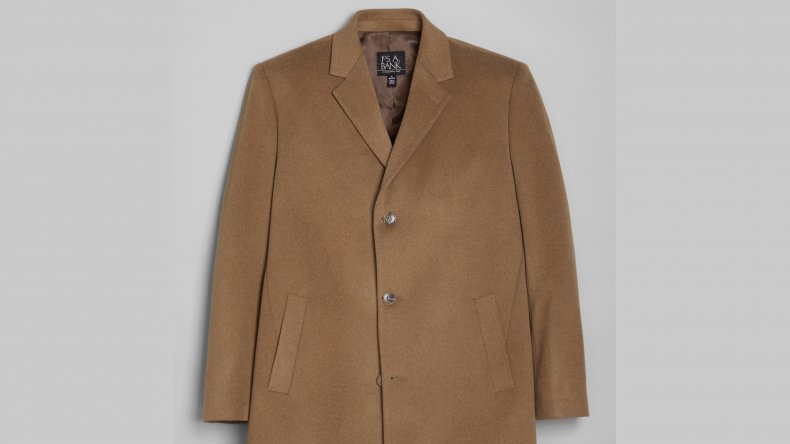 Joseph A Bank Tailored Fit Topcoat
