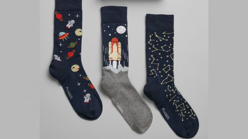Jos. A. Bank Outer Space Socks