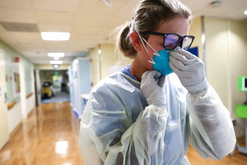 California nurse COVID-19 unit hospital December 2020