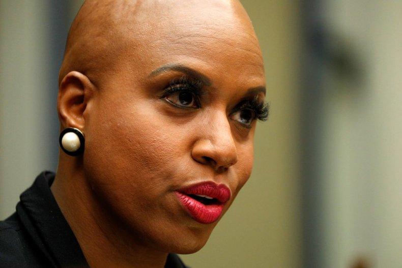 Democratic Rep. Ayanna Pressley