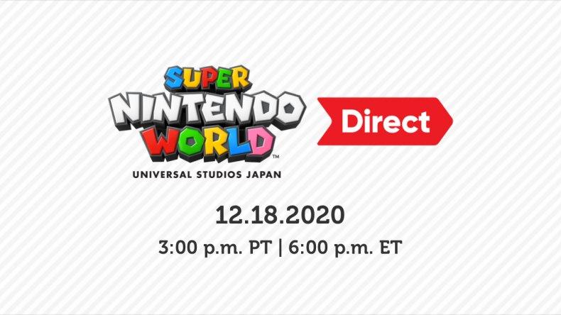 super nintendo world direct presentation