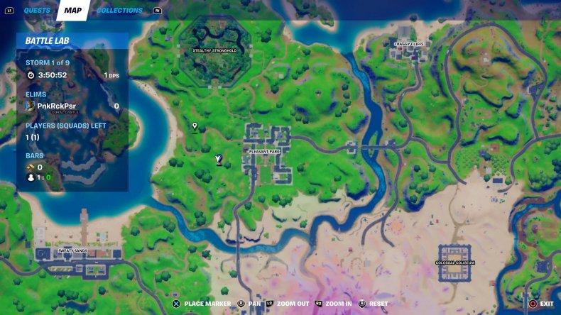 fortnite snowmando outpost location 2