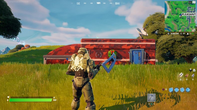 fortnite snowmando outpost location 2 gameplay