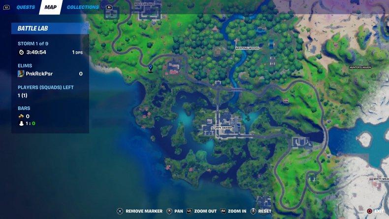 fortnite snowmando outpost location 3