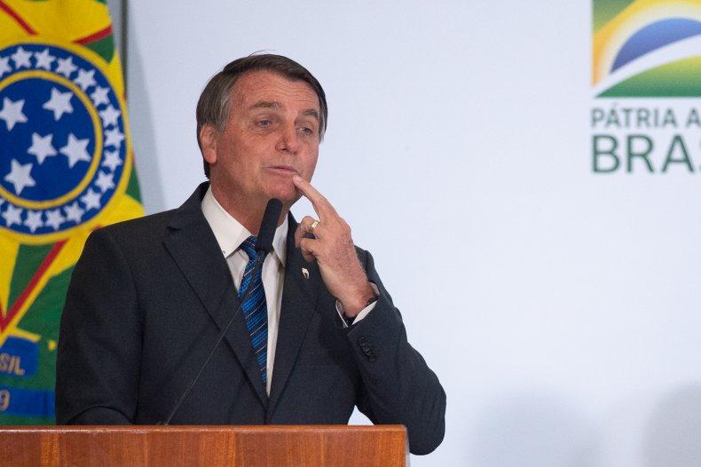 COVID Vaccine Crocodiles Brazil President Bolsonaro