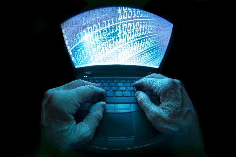 Computer Hacker Stock Image