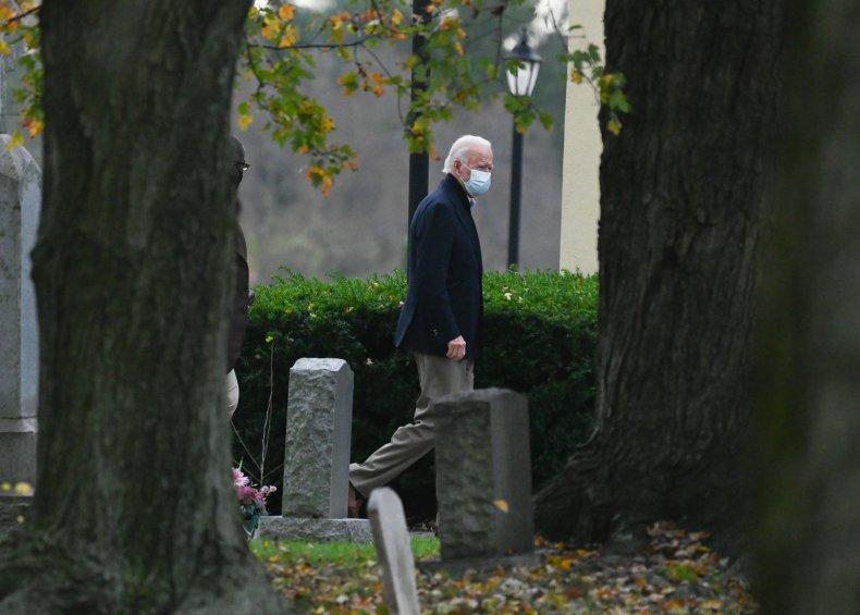 joe biden cemetery grave visit