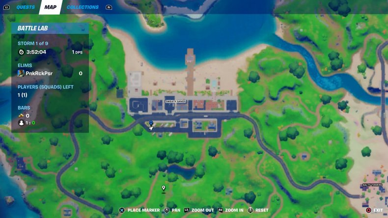 fortnite nutcracker statue location 1 map