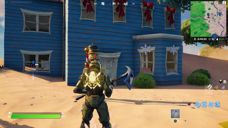 fortnite nutcracker statue location 2 gameplay