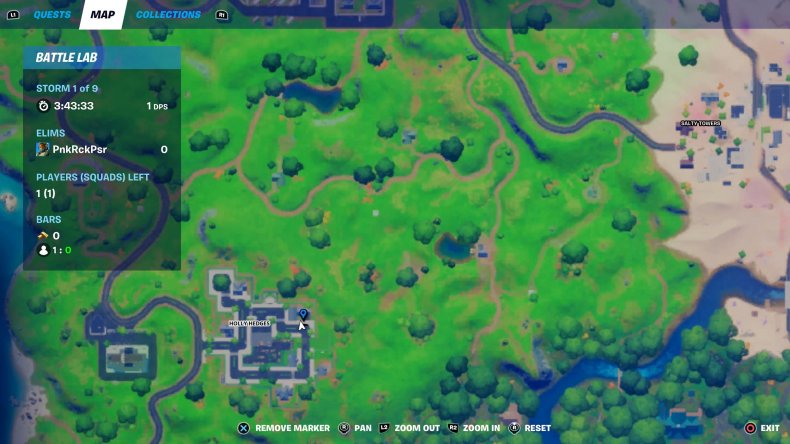 fortnite nutcracker statue location 45 map