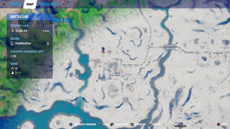 fortnite nutcracker statue location 7 map