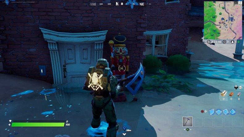fortnite nutcracker statue location 3 gameplay