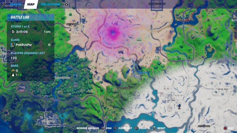 fortnite nutcracker statue location 89 map