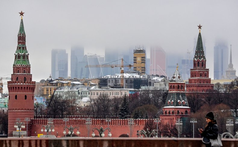 Moscow, Russia seen after solarwinds cyber attack