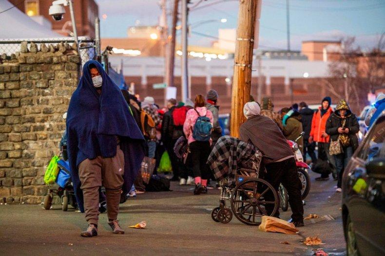 Homeless in Boston, Massachusetts