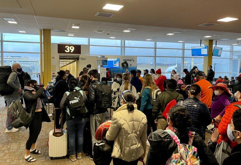 Arlington Virginia Reagan airport December 2020