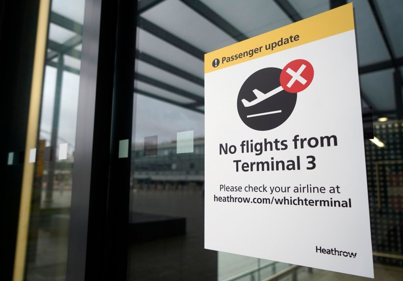 U.S.-U.K. flights