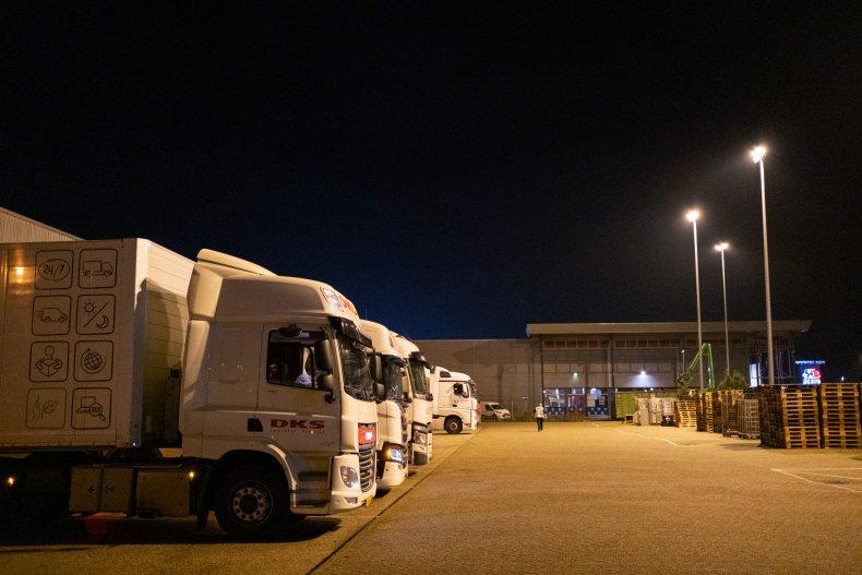 Trucker Life In Times Of Covid-19 NIEUWEGEIN,