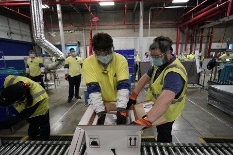 Pfizer manufacturing plant in Michigan