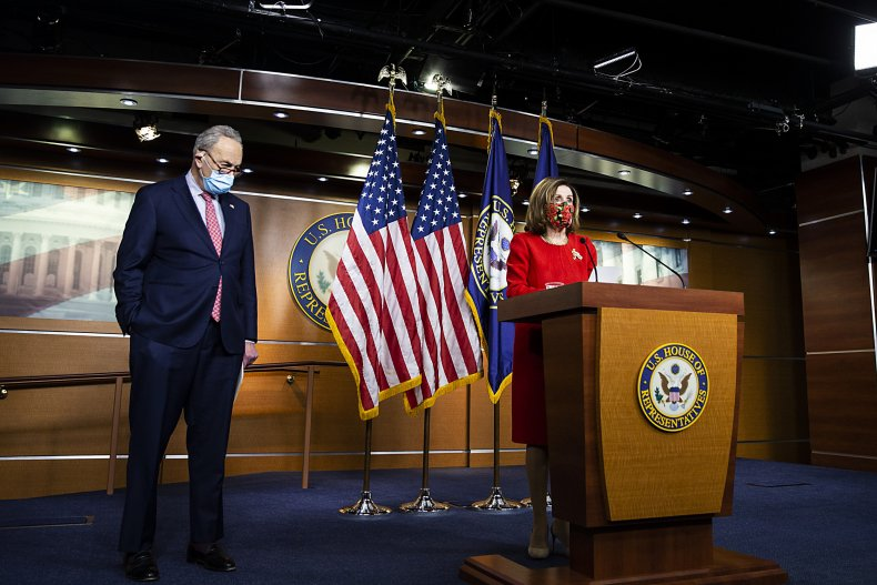 Pelosi and Schumer, stimulus bill