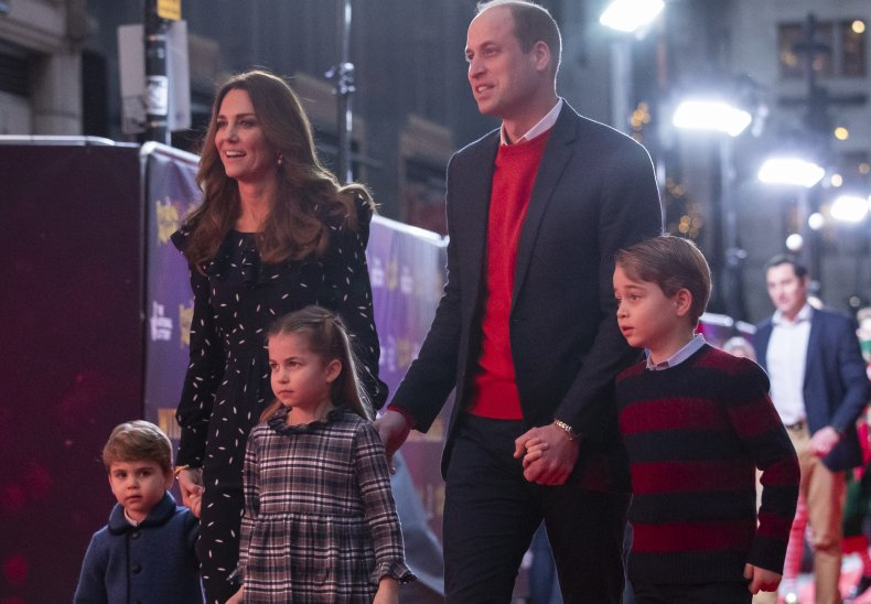 Prince William, Kate Middleton and Children, Theater