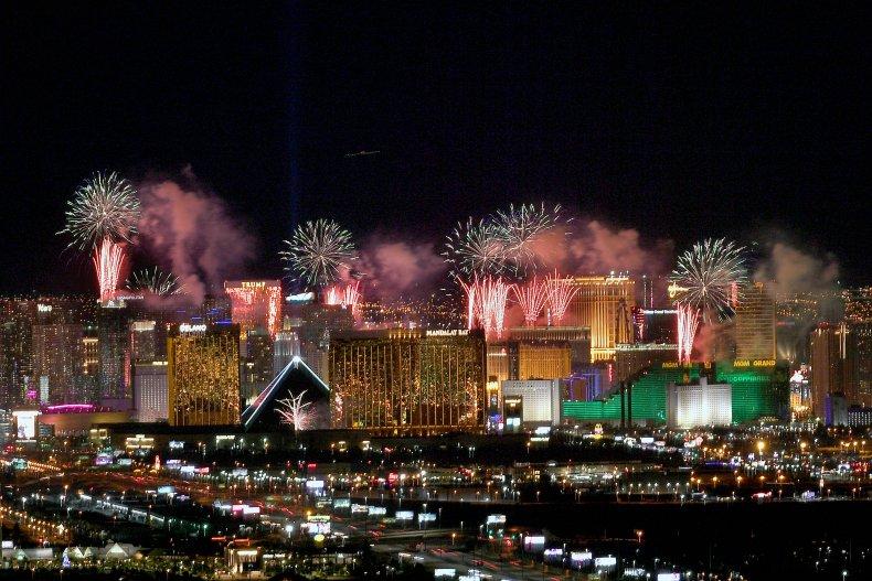 Las Vegas New Year's Day January 2020