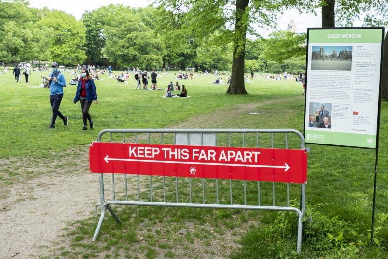 Central Park New York shutdowns