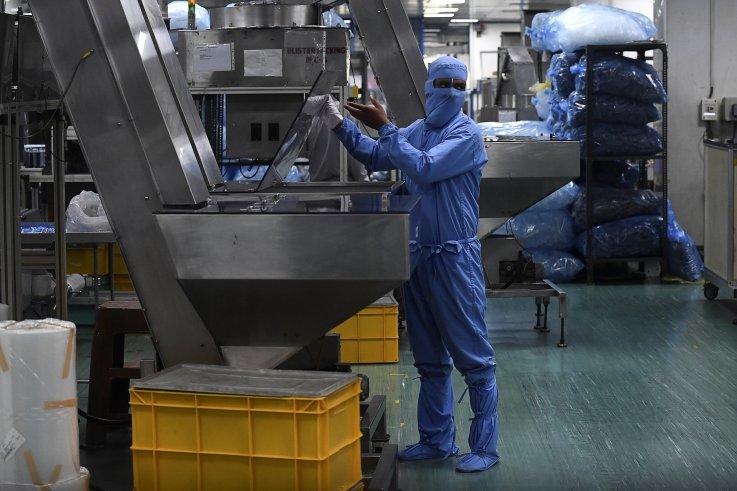 Syringe factory