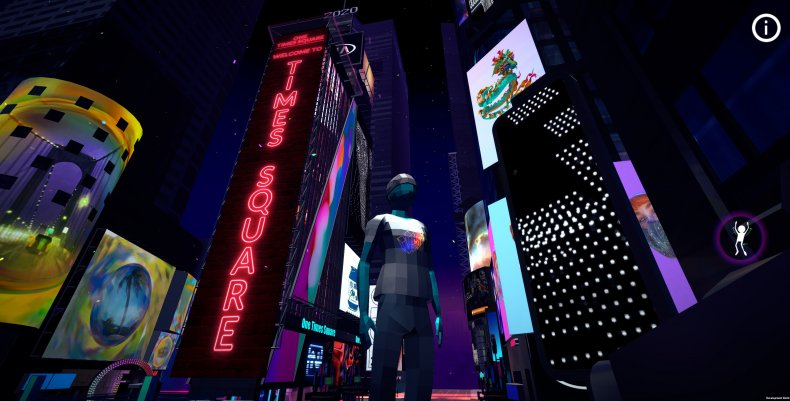 Virtual Times Square