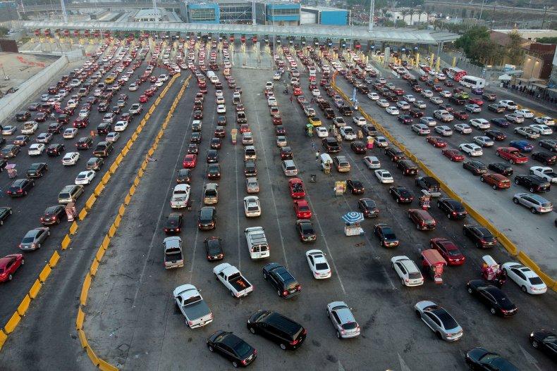 U.S.-Mexico Border Car Crash