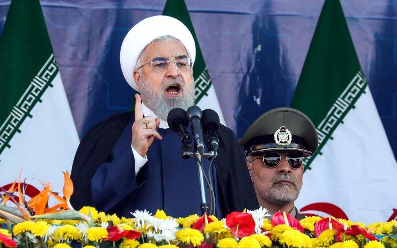 Rouhani speech Iraq Iran War Saddam Hussein