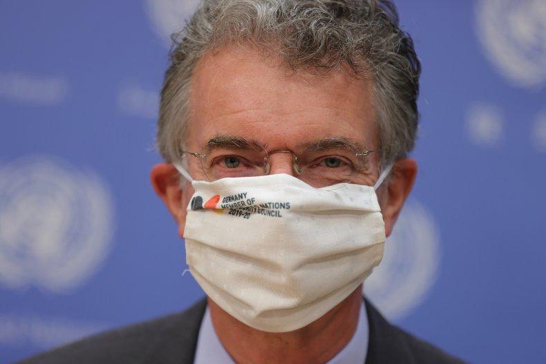 German Ambassador to U.N. Christoph Heusgen