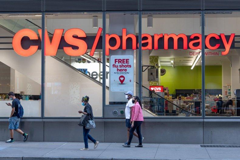 CVS pharmacy New York City August 2020