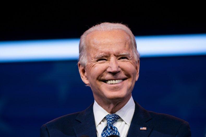President-elect Joe Biden Addresses Crowd