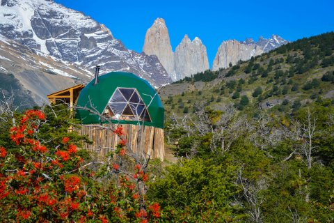 Eco Camp Patagonia, Chile