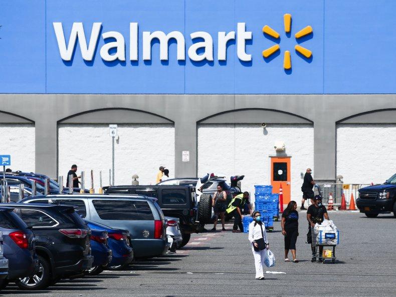 Walmart New Jersey August 2020
