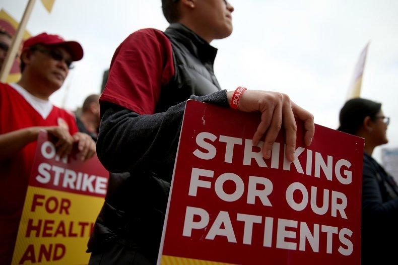 California Nurses Strike To Protest Patient Care